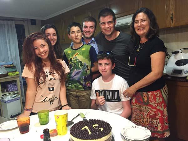 Host family accommodation