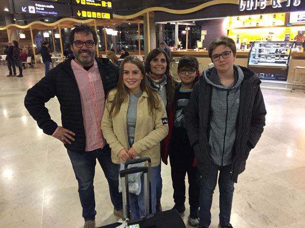 CSS Valencia airport arrival