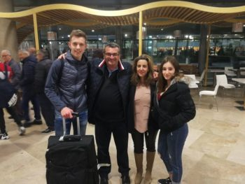 Transition year airport arrival Feb 2020